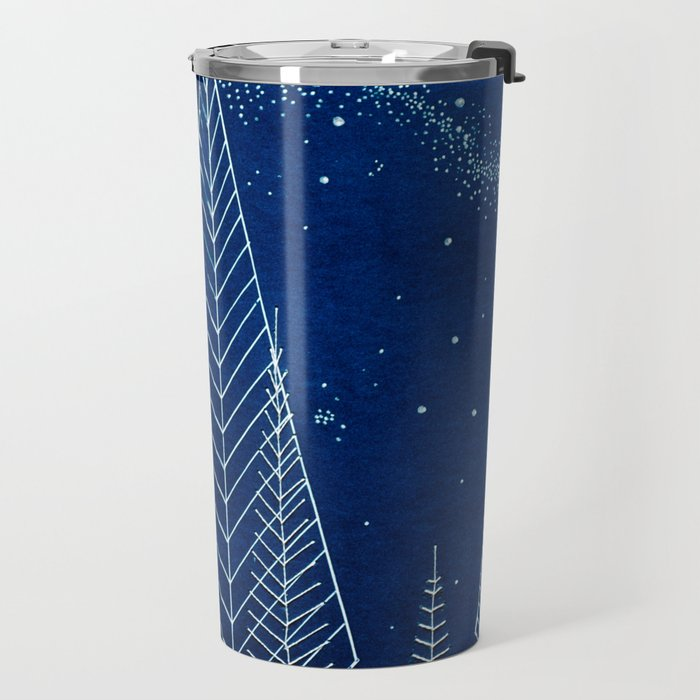Celestial Trees Travel Mug