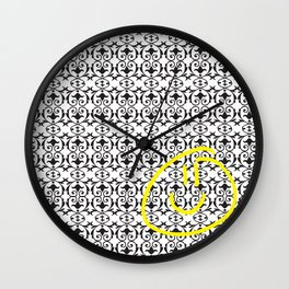 Deductive reasoning Wall Clock