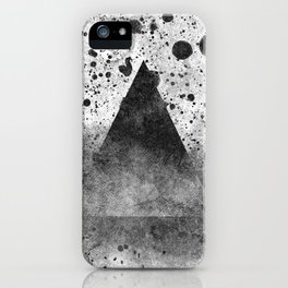 Triangle Composition III iPhone Case