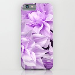 Lucious Lilac Flowers Close-Up Art Photo iPhone Case