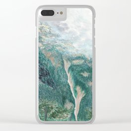 above val canzoi Clear iPhone Case