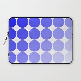 Indigo Circle Color Chart Laptop Sleeve
