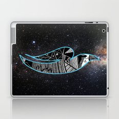 Rain Bird in Space Laptop & iPad Skin