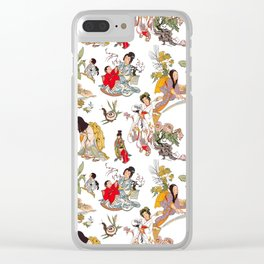 China Cabinet Toss Clear iPhone Case