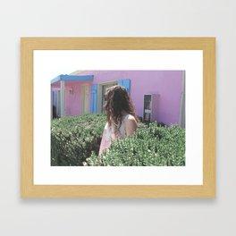 PINK MOTEL Framed Art Print