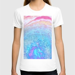 Into The Ether Agate Geode T-shirt
