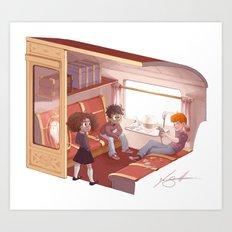 Hogwarts Express Art Print
