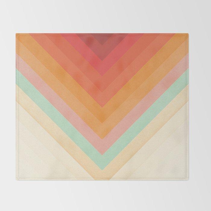 Rainbow Chevrons Decke