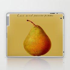 Ceci n'est pas une pomme  Laptop & iPad Skin