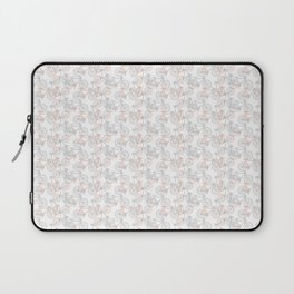 Vintage Bike Pattern Laptop Sleeve