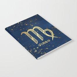 Virgo Zodiac Sign Notebook