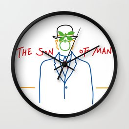 Contemporary The Son Of Man Wall Clock