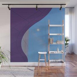 Lunar Curve Wall Mural