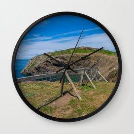 Walking the Welsh Coastal Path Wall Clock