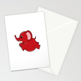 Plumpy Elephant Stationery Cards