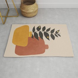 Plant in a Pot 1 Rug