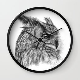 Eagle Owl G085 Wall Clock