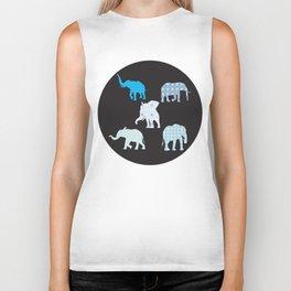 Five Elephants version2 Biker Tank