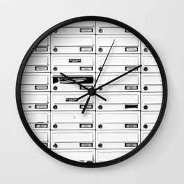 Mailbox Lotto Wall Clock