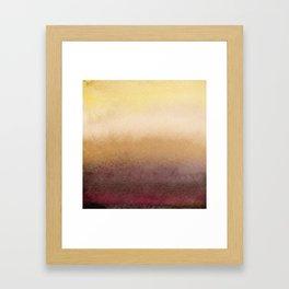 Winter sun Framed Art Print