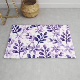Watercolor Floral VIV Rug