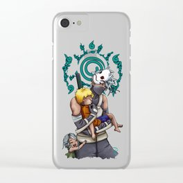 Taking Naruto Home 2 Clear iPhone Case