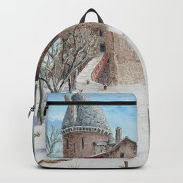Castell Coch (Red Castle) - Winter Backpack