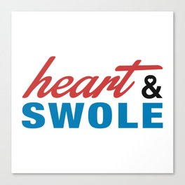 Heart & Swole Canvas Print