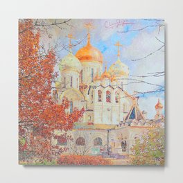 The Nativity of the Blessed Virgin Cathedral in the Conception Convent Metal Print