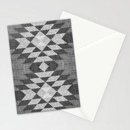 GREY DIAMOND LINEN Stationery Cards