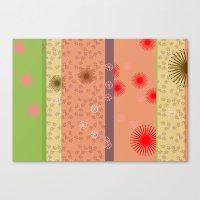 yoshi Canvas Prints featuring yoshi by fiona mcdonald