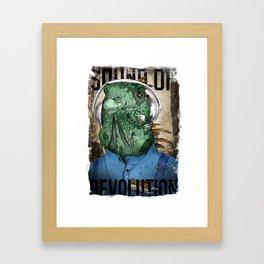 Mr. Iguana Framed Art Print