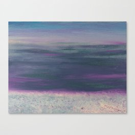 sunset in nz Canvas Print