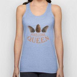 Pine cone queen Unisex Tank Top