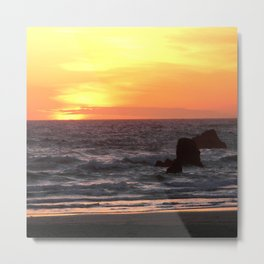 Another day has come and gone... Metal Print