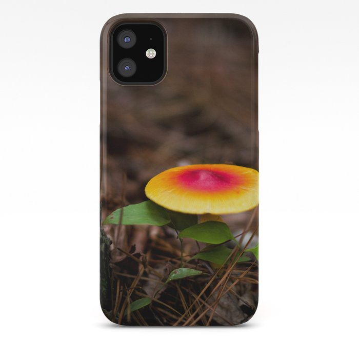 Red mushrooms iphone 11 case