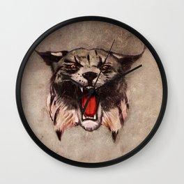 Savage Bobcat Wall Clock