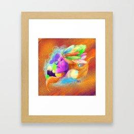 ἀταραξία. Framed Art Print