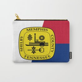 Flag of memphis Carry-All Pouch