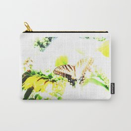 Faded Butterfly Carry-All Pouch