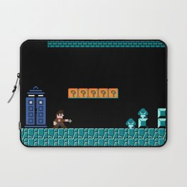 The Doctor Visits World 1-2 Laptop Sleeve