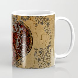 Steampunk, awesome heart Coffee Mug