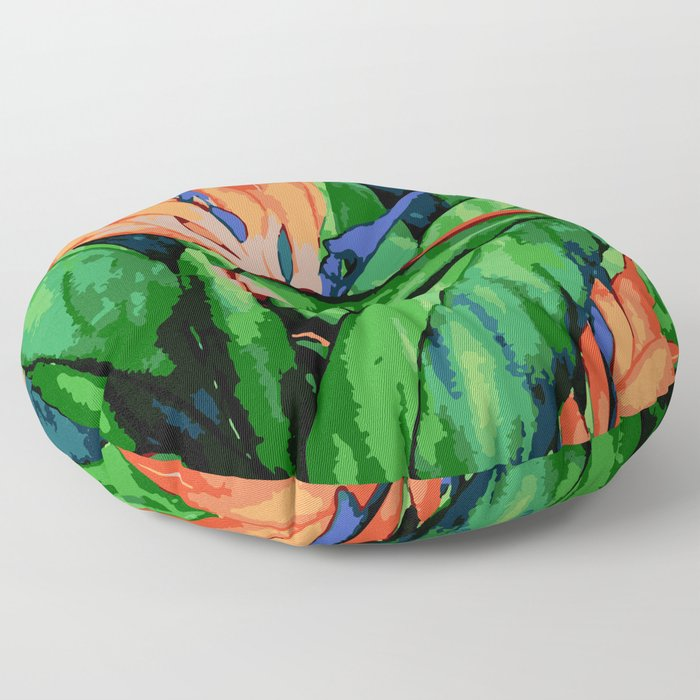 Bird of Paradise Floor Pillow