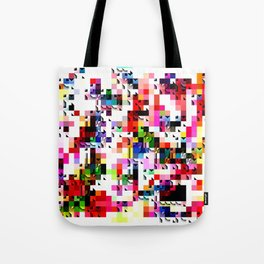 Grayson. Mixed media artwork. Tote Bag