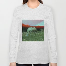 in the mountains Long Sleeve T-shirt