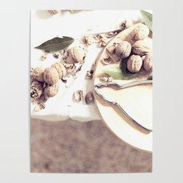Kitchen, food still life, macro photo, interior design, home decoration, wall, house, food porn Poster