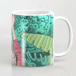 Comic Book Jungle Coffee Mug