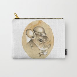 Gentleman Chinchilla Carry-All Pouch