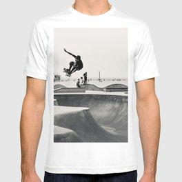 Skateboarding Print Venice Beach Skate Park LA T-shirt