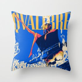 QVLIBRE kim Throw Pillow